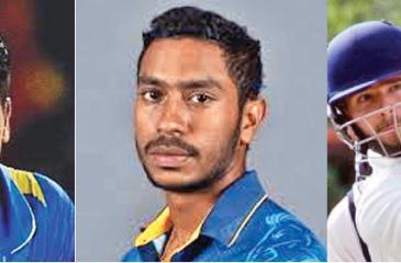 Kusal Perera scored 300 off 244 balls -Kithuruwan Vithanage scored 300 off 245 balls -Border's record breaking batsman Marco Marais