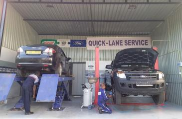 The Quick-Lane Service will speed up vehicle servicing at the Ford Centre in Battaramulla.