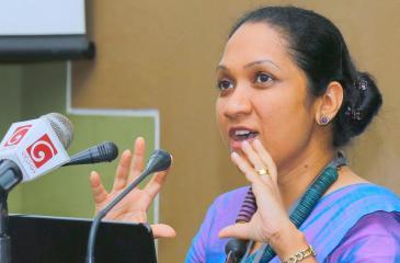 Ms. Pavithri Vithanage   (PIC: SAMANTHA WIJESIRI)