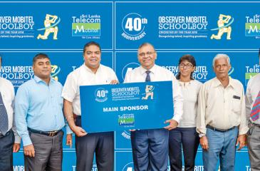 Mobitel will be the sponsor for the Observer-Mobitel Schoolboy Cricketer contest for the 11th consecutive year. Mobitel Chief Executive Officer Nalin Perera handing over the media sponsorship to Associated Newspapers of Ceylon Ltd General Manager Abhaya Amaradasa. Also in the picture are DGM  ANCL Advertising Waruna Mallawaarachchi, Mobitel Channel Communication Senior Manager Jude Silva, Sunday Observer Editor Chandani Jayatilleke, Sub-Editor Sunday Observer  Bernard Perera and ANCL Channel Manager Chanaka