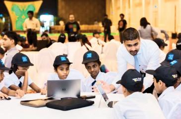 A code event conducted at Temple Trees