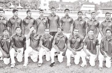 St. Anthony's College Cricket squad