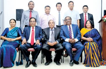 The office-bearers of the Institute of Service Management