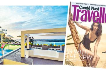 Cantaloupe Dec-Jan 2017/18 edition of the Conde Nast Traveller