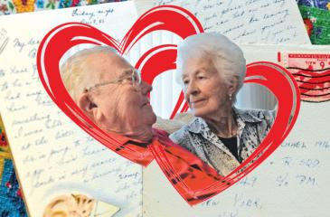 The couple got back 241 letters