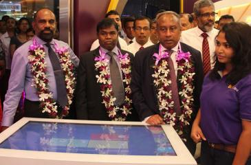 The Bank of Ceylon's state-of-the-art digital solution 'BOC DIGI' was opened at the Kandy City Centre recently.