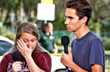 David Hogg recount their stories about the mass shooting on Wednesday