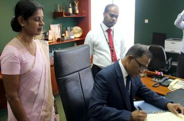 BOC General Manager Senarath Bandara. Pic: Chinthaka Kumarasinghe