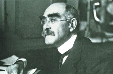 Caption for pic: Rudyard Kipling