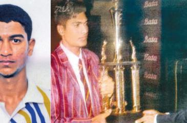 Past winners of the Observer Schoolboy Cricketer : Kaushal Lokuarachchi, St. Peter's College (2001) and Sahan Wijeratne, Prince of Wales College (2002 )