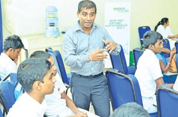 Students in nine provinces have been empowered to become 'Champions of Green Energy'