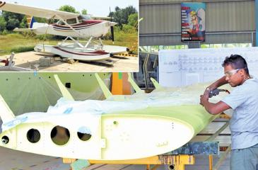 One of the companies in the EPZ, Ceylon Aeronautical Service Pvt Ltd builds wings and other spare parts for  seaplanes. The company is working as a service centre for seaplanes, mainly for the Maldivian market.