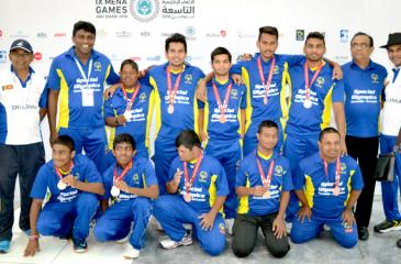 Winners at the MENA Games