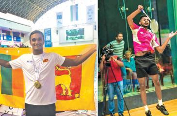 Akalanka Peiris and Sachin Dias