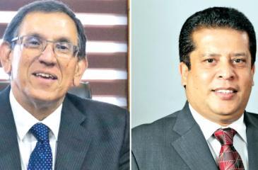 Royle Jansz and Lakshman Silva