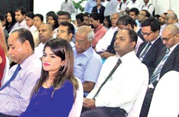 A section of the audience at the conference. PIC: CHAMINDA NIROSHANA