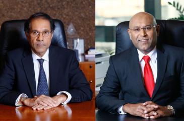 Chairman Ananda Atukorale   &  CEO Dimantha Seneviratne