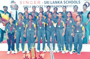 Girls from Devapathiraja College in Galle pictured here in this photo after winning the 2018 title are some of the players who will be able to nudge the judges. The champion girls team comprise Nilakshana Sandamini (captain), Kavisha Dilhari, Sathya Sandeepani, Pooja Rashmi, Suleesha Sathsarani, Umesha Thimeshani, Sachini Nisansala, Thileeshiya Chathurangi, Imesha Dulani, Shikhari Nuwantha, Ihara Sewwandhi, Ishara Sanjeewani, Sumudu Nisansala, Sapna Madubhashani and Shashika Imalshi who were coached by Mah