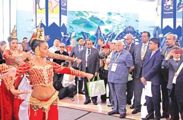 Opening ceremony of Sri Lanka Pavillion at the Shanghai World Travel Fair