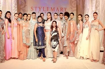 Singaporean designer Kavita Thulasidas' show in Singapore