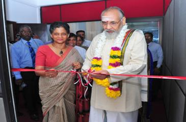 Northern Province Chief Minister C.V.  Vigneswaran and Chairperson and Chief Executive EDB Indira Malwatte  open the new office