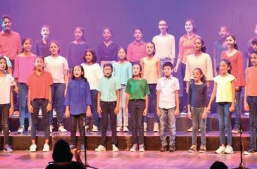 Sri Lankan choristers
