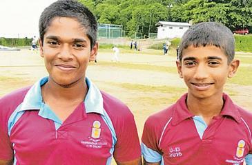 Sachintha Dissanayake  and Yasiru  Gamaarachchi