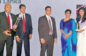 NDB team after winning the awards