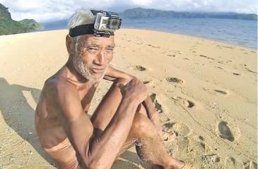 Masafumi Nagasaki, 82, lived alone naked on a remote Pacific island for nearly 30 years.