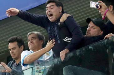 Maradona at the World Cup