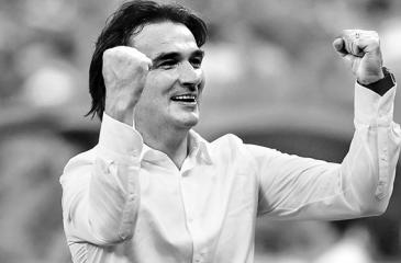 Croatia coach Zlatko Dalic