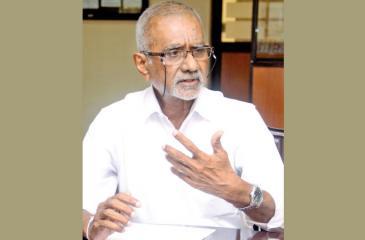 Sarath W. Alahakoon  Picture by Chaminda Niroshana