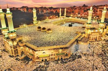 Over 1.5 million people make the annual pilgrimage to Mecca, Saudi Arabia for Hajj