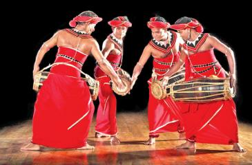 Kandyan Drummers in action
