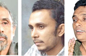 Saman Athaudahetti, Malaka Dewapriya & Prasanna Vithanage