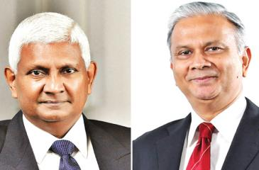 Ceylinco Life Managing Director/CEO R. Renganathan and Director/Deputy CEO Thushara Ranasinghe