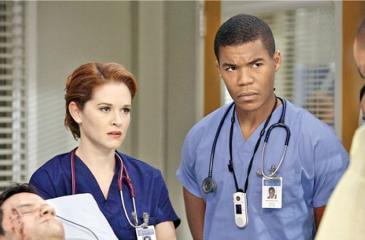Sarah Drew: scenes from Grey's Anatomy