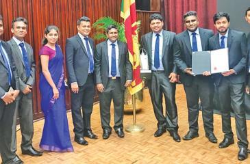 The Forbes Marshall Lanka team