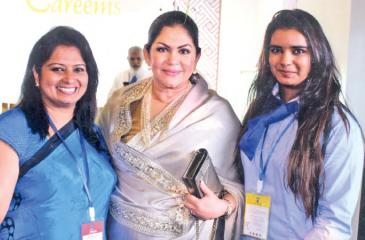 Roshan, Mayoress Rosy Senanayake and Tilakshi