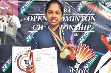 Panchali Adikari: Champion at the tournament in Anuradhapura