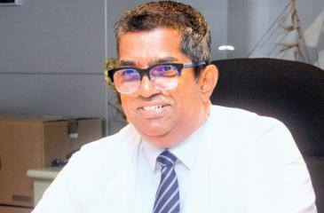 Chairman, Sri Lanka Shipper's Council, Chrisso de Mel  Pic: Chaminda Niroshana