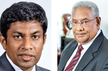 Chief Executive Officer SriLankan Catering, Lalith Vithana     & Chairman SriLankan  Airlines and SriLankan Catering, Ranjit Fernando