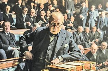 Sir Winston Churchill in the 'Darkest Hour'