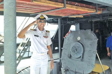 Lt. Commander Krishan Welagedara