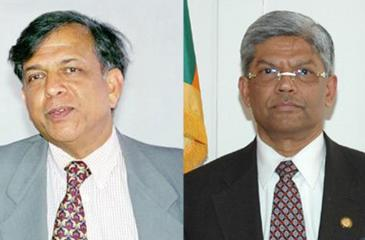 Siddharth Shriram and Bernard Goonetilleke