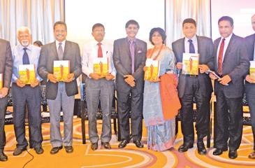 From left: Martin Rama, Chief Economist, South Asia Region,World Bank, Dr. H. Manthrithilake, Head, Sri Lanka Development Initiative, IWMI, Prof. Buddhi Marambe, Faculty of Agriculture University of Peradeniya, SarathPremalal, Director General, Department of MeteorologyProf. Mohan Munasinghe, Founder Chairman, Munasinghe Institute of Development Ms. Kusum Athukorala, Chair, Network of Women Water Professionals, Muthukumara Mani,Lead Economist, World Bank, Anura Dissanayake, Secretary,Ministry of Mahaweli De