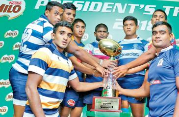File photo of a schools rugby tournament being marketed by a sponsor at the concluded season