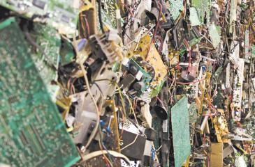 Singapore, according to statistics, produces about 60,000 mt of electronic waste annually