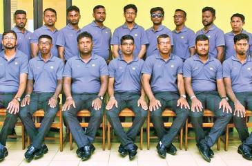 Sri Lanka squad: Priyantha Kumara (captain), Saman Kumara, Sahan Kumara, JD Raveendra, KA Silva, D. Chaminda, Kosala Herath, Upul Sanjeewa, Ruwan Wasantha, Saman Thushara, DDN Mathugama, WSC Bandara, Suranga Sampath, Chandana Deshappriya, Chandana Sooriayarachchi, Damith Sandaruwan, Dinesh Maduwantha, Lakshan Devapriya (coach) Chaminda Pushpakumara (Manager), YGA Sumanaweera (assistant manager)