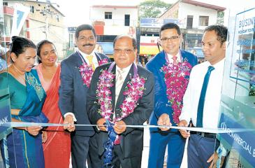Commercial Bank Chairman Dharma  Dheerasinghe opens the branch